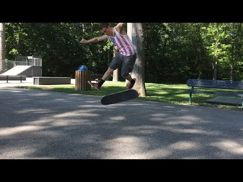 LEARNING A NEW TRICK! - RANDOM SKATE FOOTAGE
