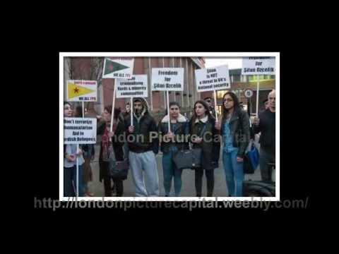 London protesters demand freedom for jailed Silhan Ozcelik
