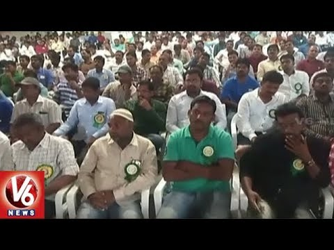 Computer And Accounts Department Employees Demands For Salary Hike | Hyderabad | V6 News