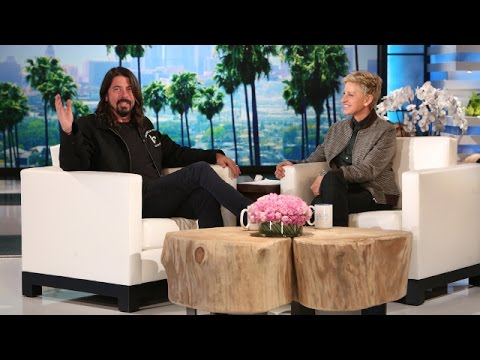 Dave Grohl Talks About Being a Parent