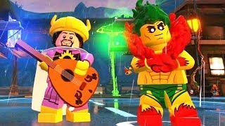 Lego DC Super-Villains: Parque do Coringa e Arlequina