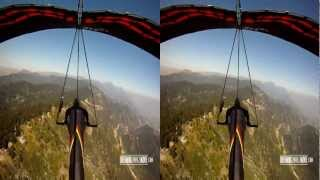 Hang Gliding With The GoPro 3D