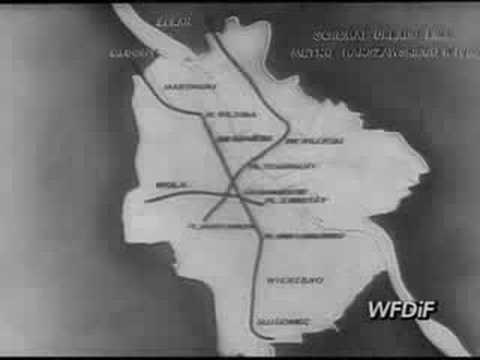 Metro W Warszawie- Kronika Filmowa