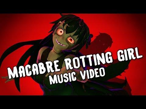 [Halloween Animation] - 💀 Macabre Rotting Girl 💀