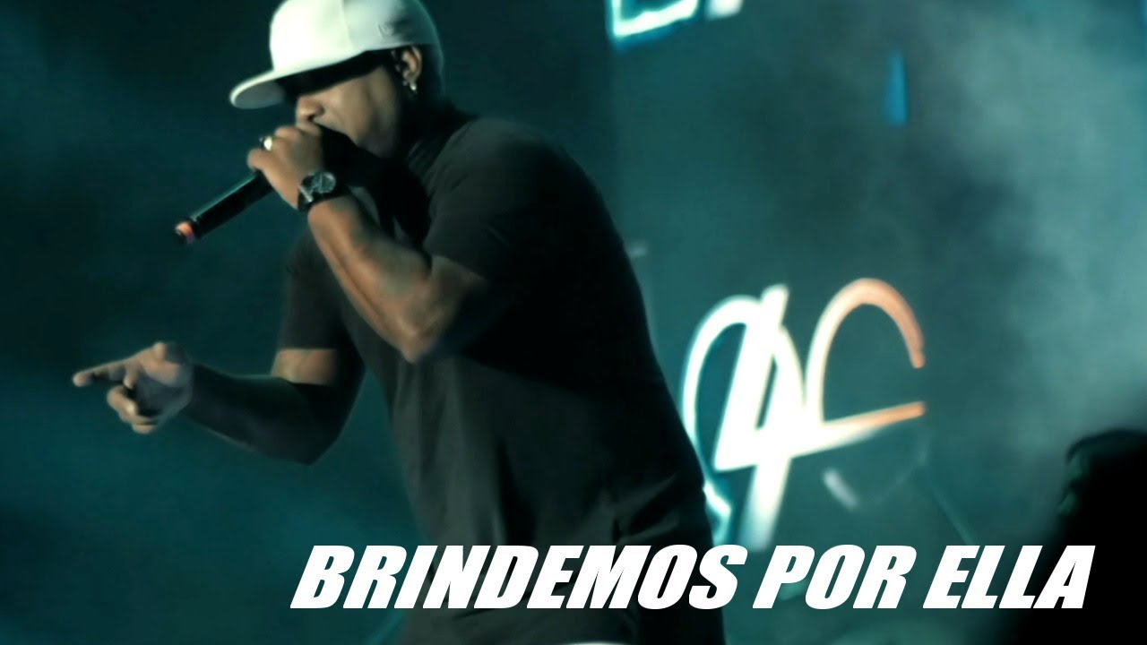 LOS 4 Ft. YAMBELE - BRINDEMOS POR ELLA - (OFFICIAL VIDEO)
