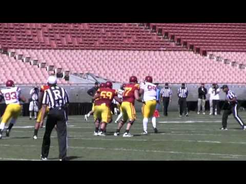 Highlights from the 2012 USC spring game