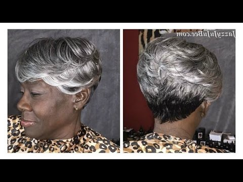 HOW TO CUT & STYLE A SHORT SEW IN HAIRSTYLE