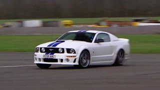 Mustang GT500 Power Lap - The Stig - Top Gear - BBC