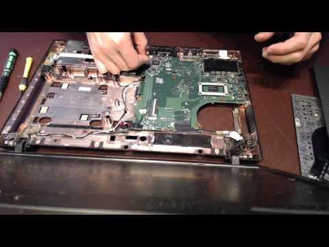 HP 620 laptop power jack repair socket input port connector replacement taking apart