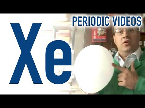 Xenon - Periodic Table of Videos