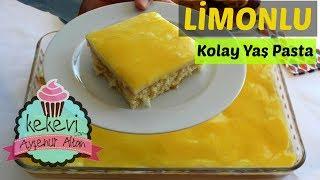 Limonlu Pratik Yaş Pasta Tarifi / Ayşenur Altan Yemek Tarifleri