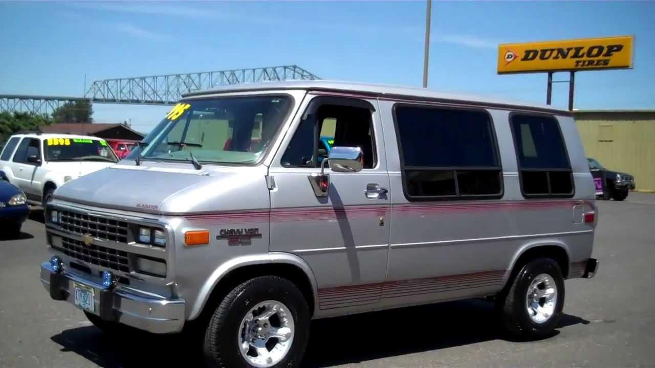 1995 Chevy Shorty Van Sold Youtube