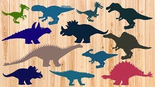 Dinosaurs Names Wrong body | Learn Dinosaurs Names and Sounds | MiMi TV
