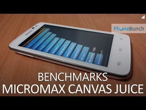 Micromax Canvas Juice A77 (A177) Benchmarks