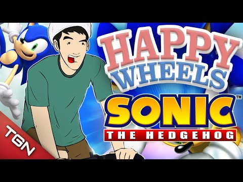 Happy Wheels: Sonic The Hedgehog video