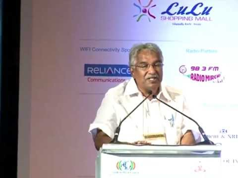 Pravasi Bharathiya Divas-Inaugural function with Kerala Chief Minister Shri.Oommen Chandy