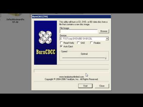 How to create and run the Hiren's BootCD 15.2