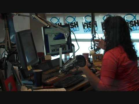 Dawn O'Brian Getting Jiggy With It on Hawaii Radio 95.5