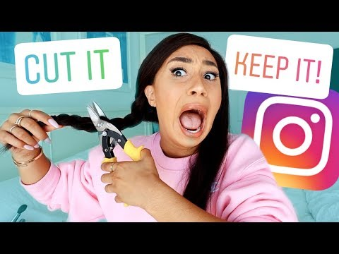 I Let My Instagram Followers Control My Life For A Day!