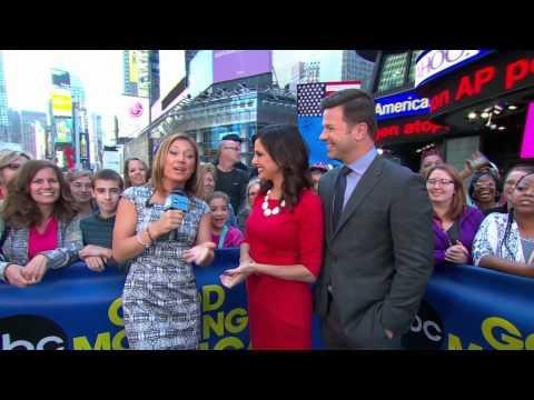 Good Morning Americas Ginger Zee Marries News Reporter Ben Aaron