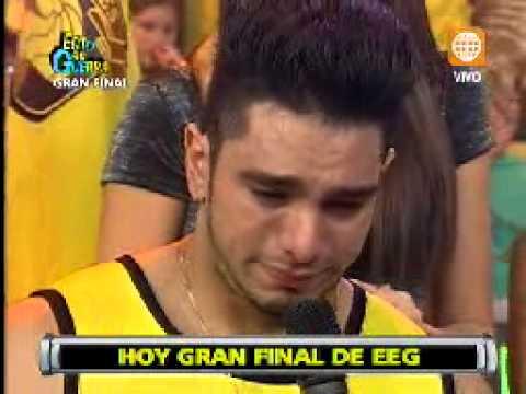 Esto es Guerra: Rafael Cardozo llora al recordar a su hija - 16/08/2013