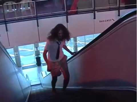 Man Vs. Wild. Escalator