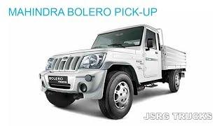 MAHINDRA BOLERO PICK UP || Trucks & Pickup