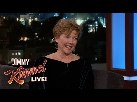 Jimmy Kimmel Embarrasses Annette Bening with Miami Vice Clip | jimmy