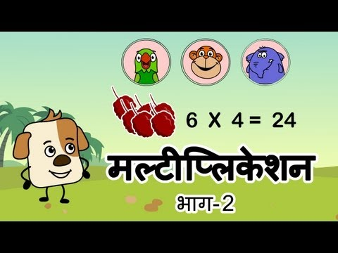 Learn about Multiplication [Hindi]