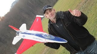 I fly my 90mm EDF R/C Modell Jet F-16 General Dynamics Fighting Falcon