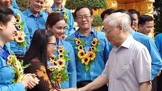Tổng Bí thư, Chủ tịch nước gặp mặt cán bộ công đoàn tiêu biểu nhận Giải thưởng Nguyễn Văn Linh