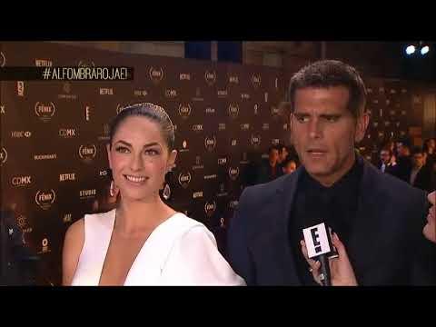 Christian Meier y Bárbara Mori 'Premios Fénix 2017'