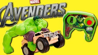 Disney Marvel Avengers Remote Control Hulk Smash RC Car Toy Vehicle REVIEW