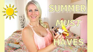 Meine SUMMER MUST HAVES 2016 I ESSENTIALS I Beauty, Healthy Food & vieles mehr