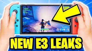 FORTNITE ON SWITCH LEAK! E3 Mobile ANDROID Download RELEASE DATE!? *NEW INFO!*