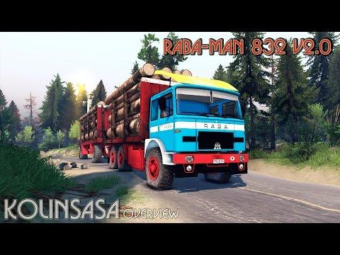 Raba-MAN 832 v2.0