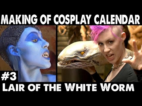 Cosplay Calendar Making of #3: Lair of the White Worm Cosplay!