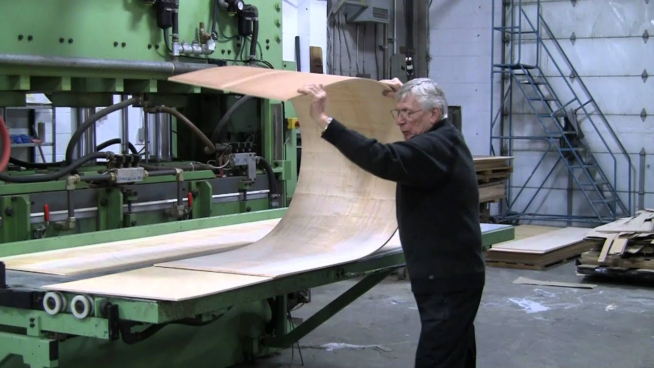 Bending Plywood Using Patented Bend A Ply Method Youtube