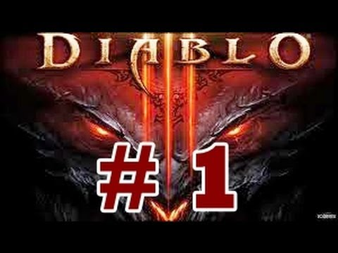 Diablo 3 ( XBOX 360 1080p FULL HD ) Barbarian walkthrough part 1