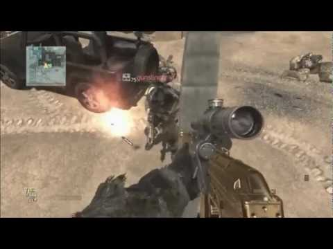 MW3: Modern Warfare 3 Glitches - Out Of Map HardHat