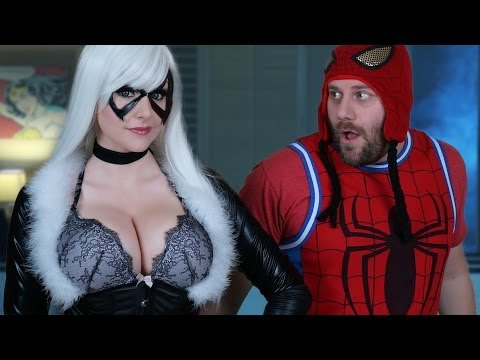 Talk Nerdy To Me - Jason Derulo Talk Dirty Parody ft Black Cat Cosplay
