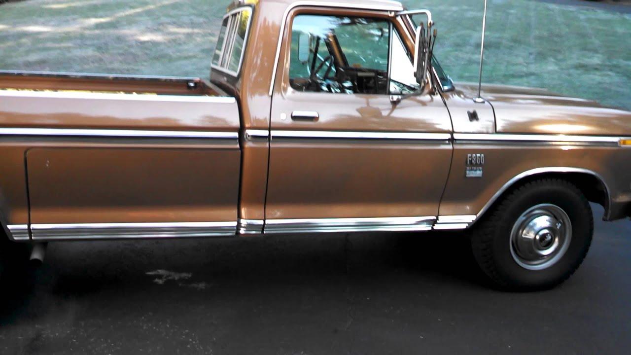 1974 ford f 350 ranger xlt for sale youtube