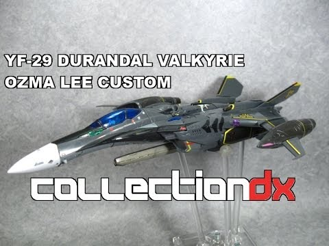 DX Chogokin YF-29 Durandal Valkyrie Ozma Lee Custom from Macross 30 Review - CollectionDX