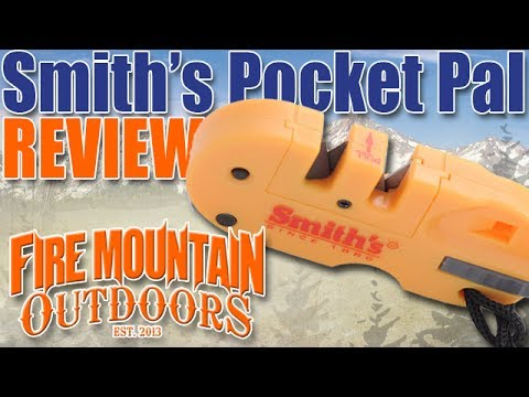Smith's Pocket Pal Knife Sharpener.  Best affordable gift ever?