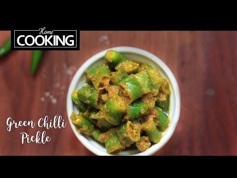 Green Chilli Pickle | Hari Mirch ka Achar | Achaar Recipes