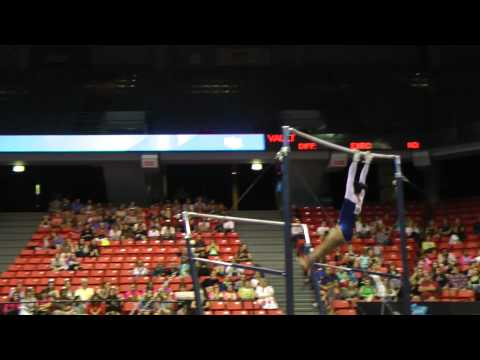 Veronica Hults - Uneven Bars - 2012 Secret U.S. Classic