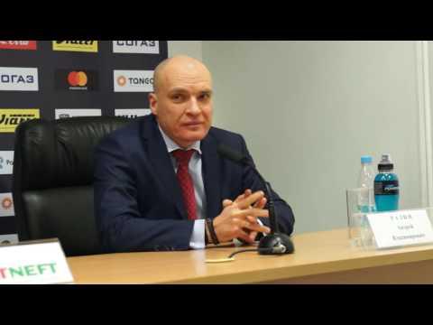 """Пресс-конференция: """"Ак Барс"""" - """"Автомобилист"""", 29.10.2016"""