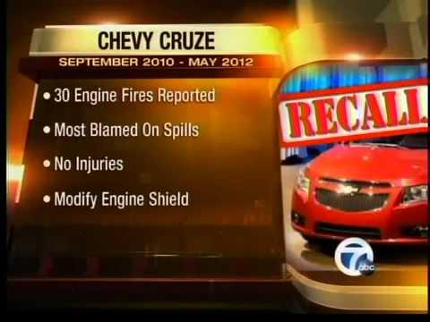 Chevy Cruze recall