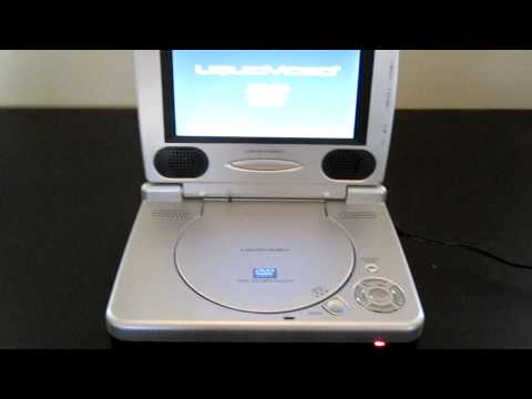 Liquid Video Portable DVD Player
