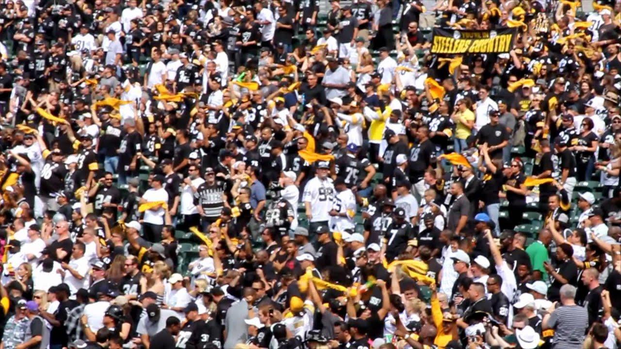 Raider 2012 Record Raiders vs Steelers 2012